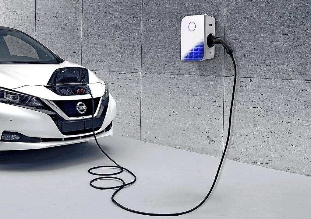Wichtig  für die E-Mobilität ist eine Wallbox zu Hause.  | Foto: Nissan
