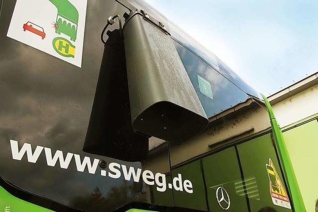 Ein Sensor an Bussen macht Winterdiensteinsätze in Offenburg besser planbar