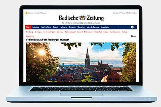 Unser Jubiläumsgeschenk für BZ-Abonnenten: BZ-Online gratis