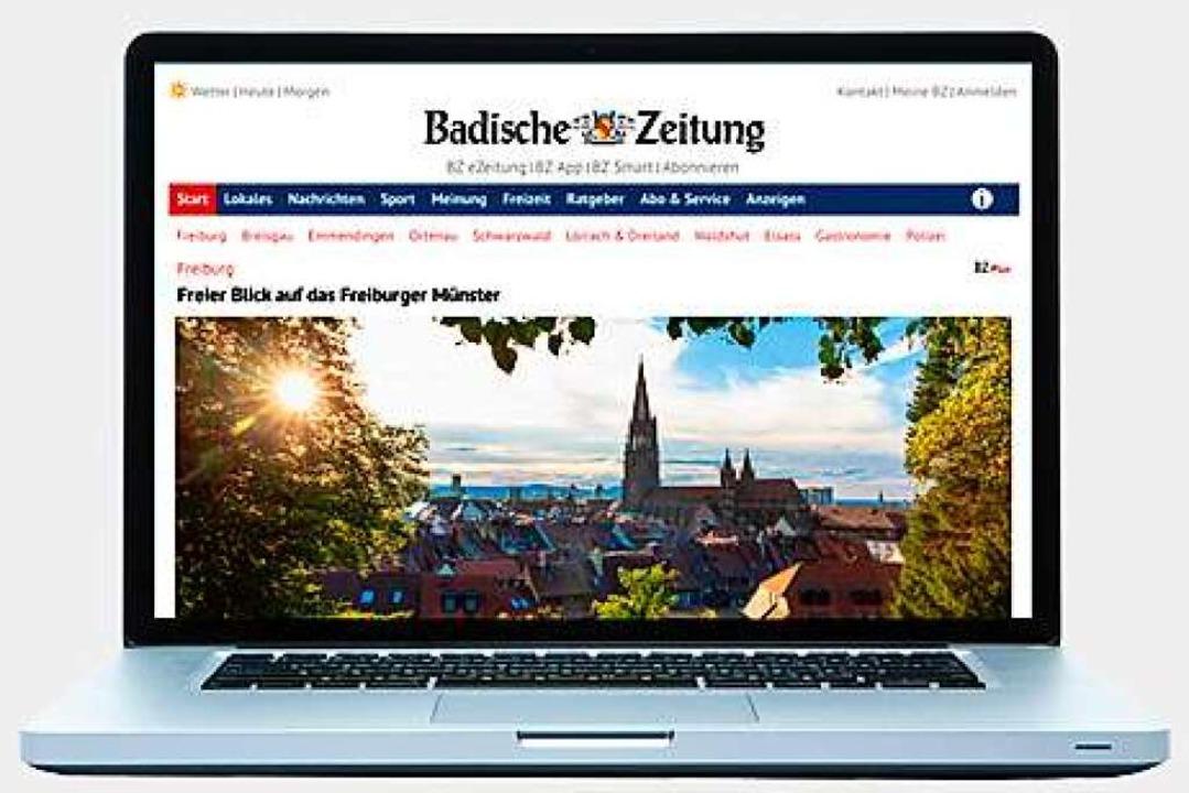 Freuen Sie sich auf den Zusatznutzen von BZ-Online!    Foto: BZ