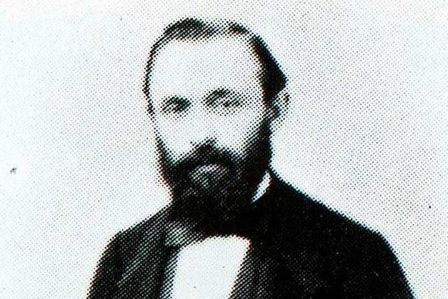 Isidor Nosch gründete 1861 die Firma Optik Nosch in Oberlinden