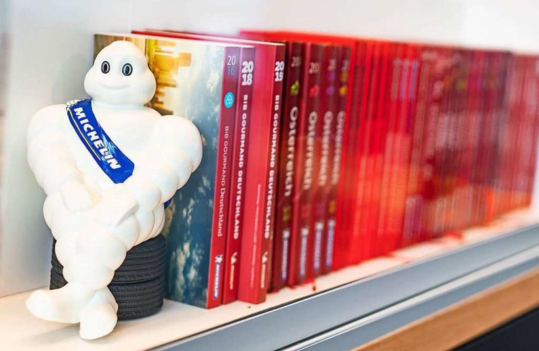 Das Michelin-Männchen – ein Maskottchen nicht nur für Brummifahrer.  | Foto: Frank Rumpenhorst (dpa)