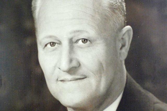 Hermann Bohny gründete das gleichnamige Sporthaus am Siegesdenkmal