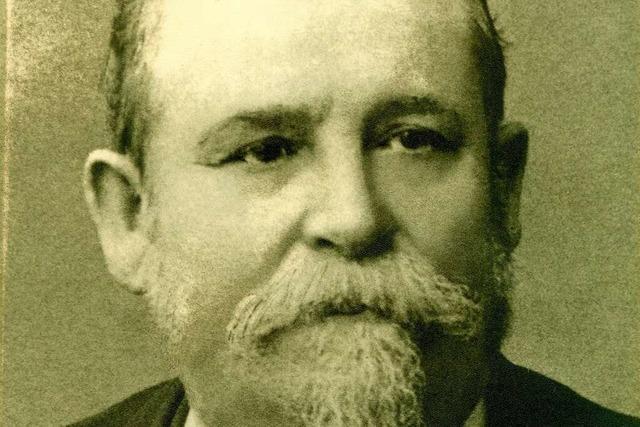 Josef Wilhelm Herr gründete ein Modehaus, weil er den väterlichen Hof nicht erben konnte