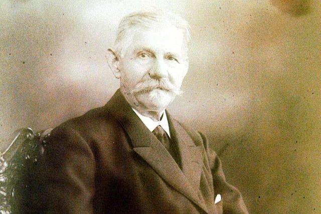 Leopold Hambrecht ist Gründer der Blumen- und Samen-Dynastie