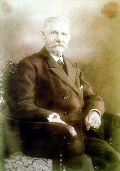 Der Gründer der Dynastie: Leopold Hambrecht.   | Foto: Repro: Ingo Schneider