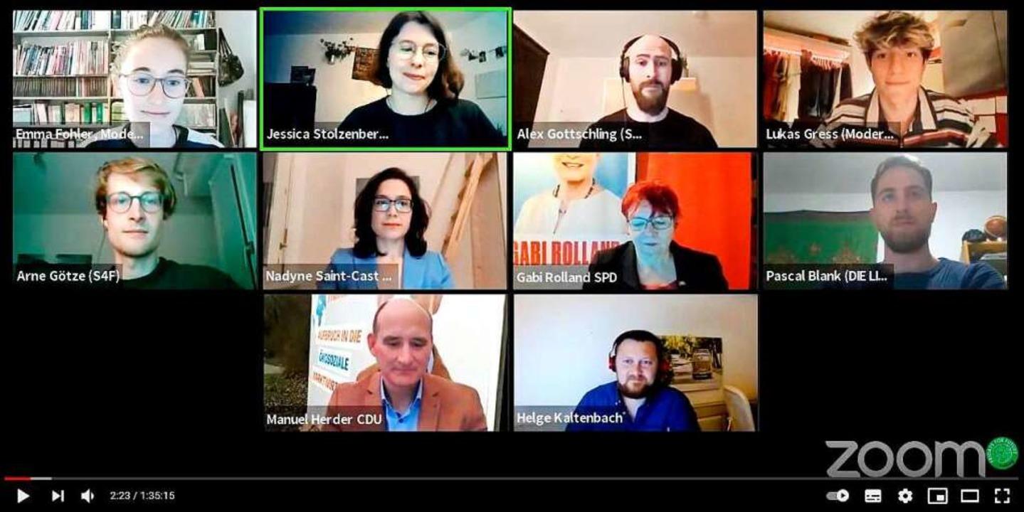 Podiumsdiskussion #KlimaWähltGerechtigkeit  | Foto: Screenshot