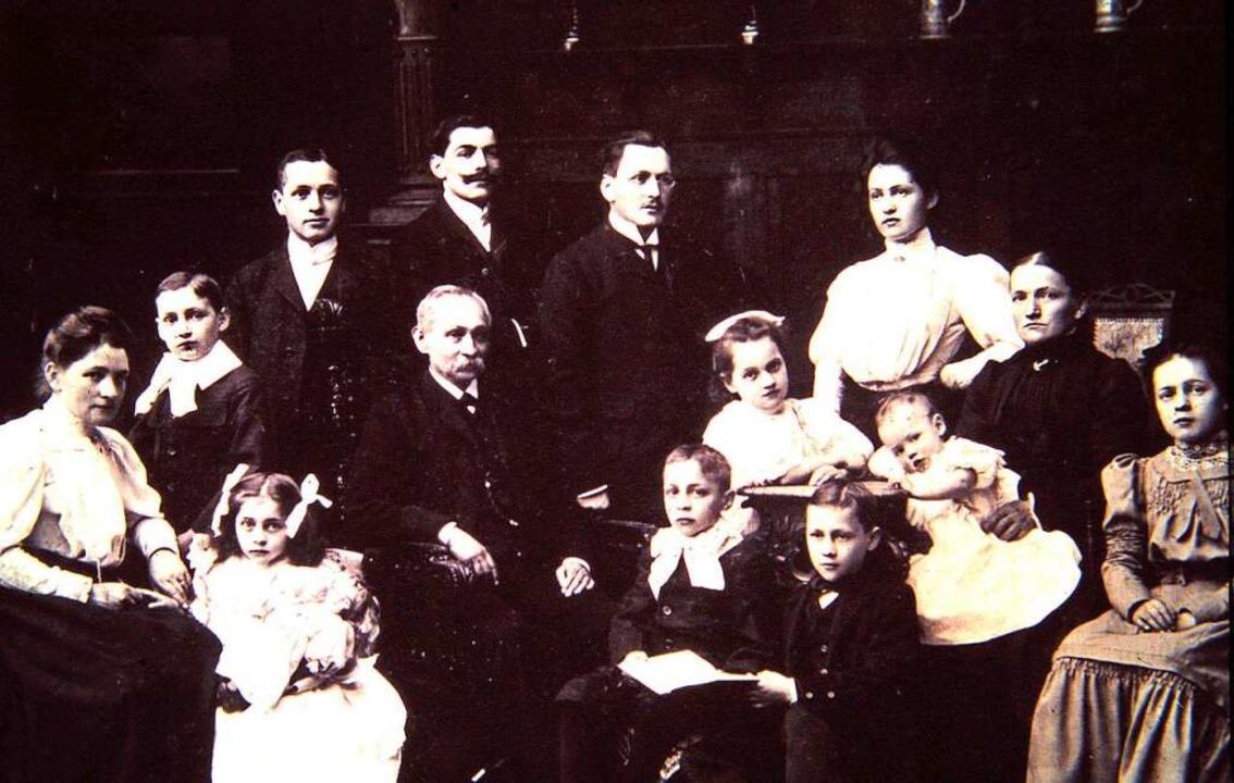 Die Familie Ries aus dem Stadtteil Herdern  | Foto: Archiv Hans Sigmund