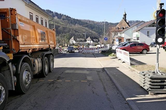 Die Verkehrs-Qual im Tal