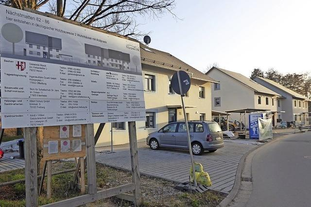 Sozialwohnungen in den Nächstmatten sind fertig