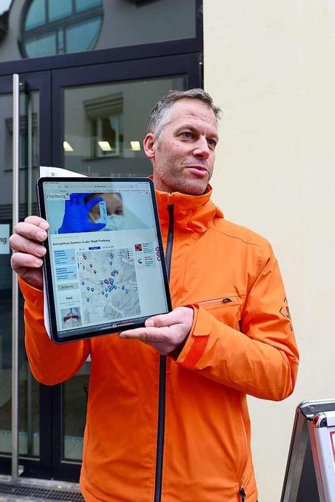 Frank Uekermann leitet die städtische Corona-Arbeitsgruppe.    Foto: Ingo Schneider