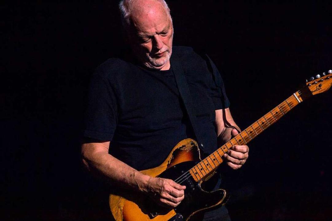 Gilmours legendäres Bending: Mit dem Z... schwebenden, warm vibrierenden Klang.  | Foto: Francesco Prandoni