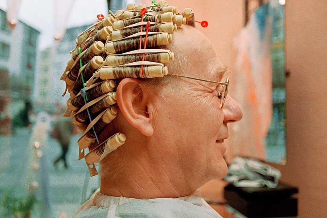 Armin Maiwald ist einer der Erfinder d... sich schonmal eine Dauerwelle machen.    Foto: WDR