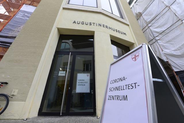 Freiburg fährt ein Corona-Test-Konzept mit Hand und Fuß auf