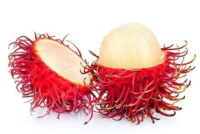 Die Rambutan ist ein fruchtiger Exot
