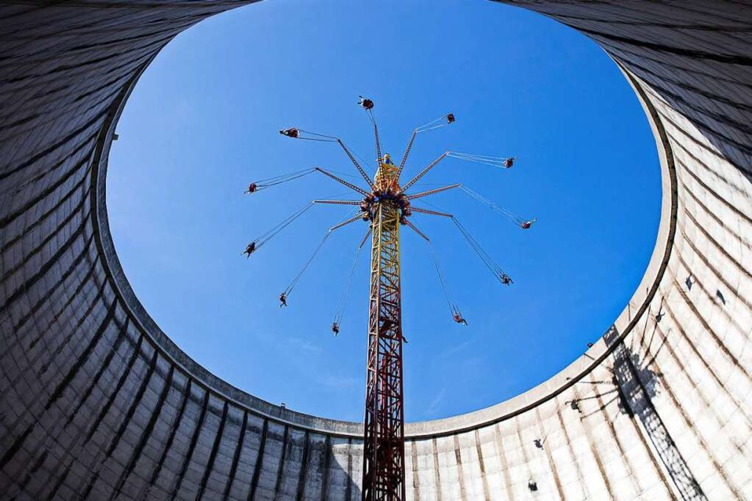 Eigentlich sollte es ein Atomkraftwerk...urants, Hotels und ein Businesscenter.  | Foto: Wolfgang Nebel