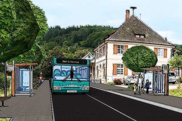 Kandern will Busfahrgästen einen barrierefreien Einstieg ermöglichen