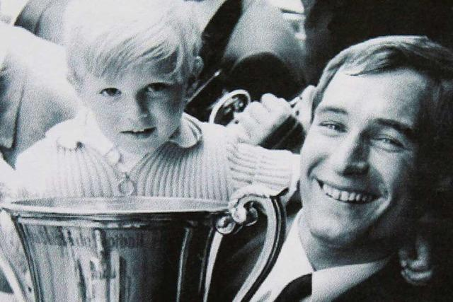 Der Schopfheimer Top-Fußballer Helmut Hauser feiert seinen 80. Gebrurtstag