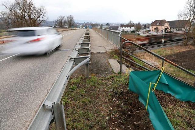 Ein neuer Rad- und Gehweg soll bei Kippenheim gebaut werden