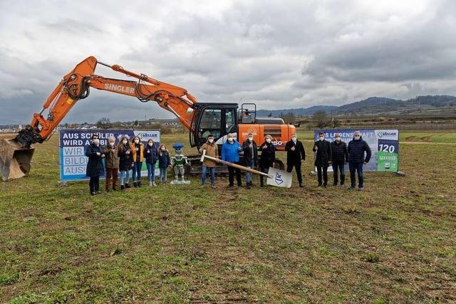 Baubeginn für neuen Firmensitz von Keller Blechtechnik