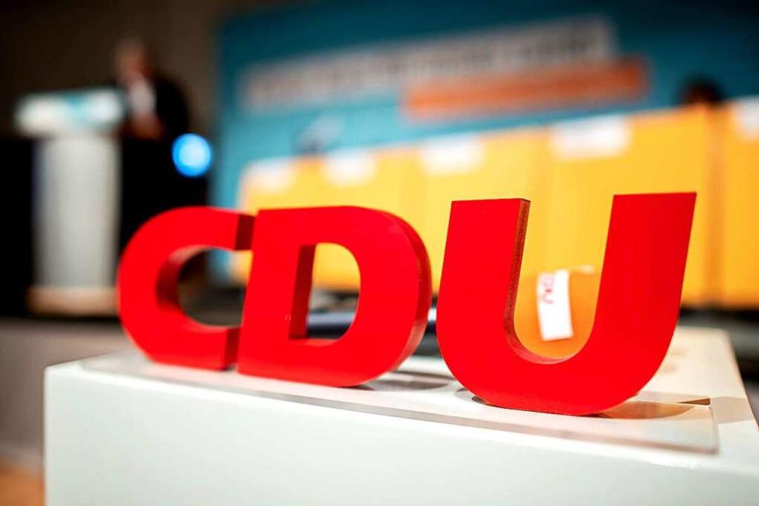 CDU in schwerem  Fahrwasser  | Foto: Hauke-Christian Dittrich (dpa)