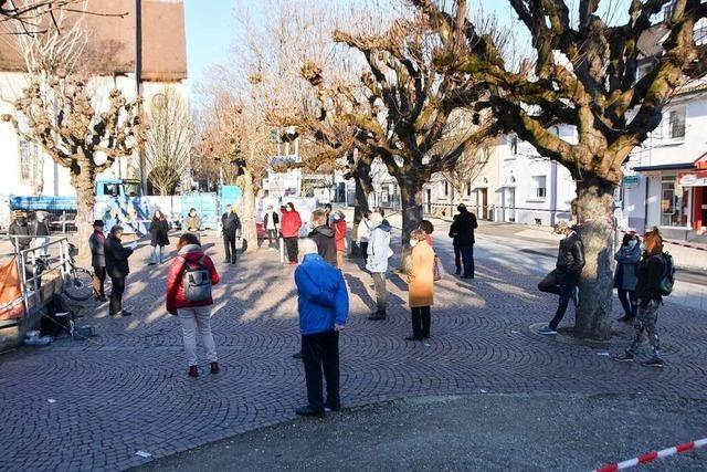 Freundeskreis Asyl zeigt in Rheinfelden Solidarität mit Geflüchteten