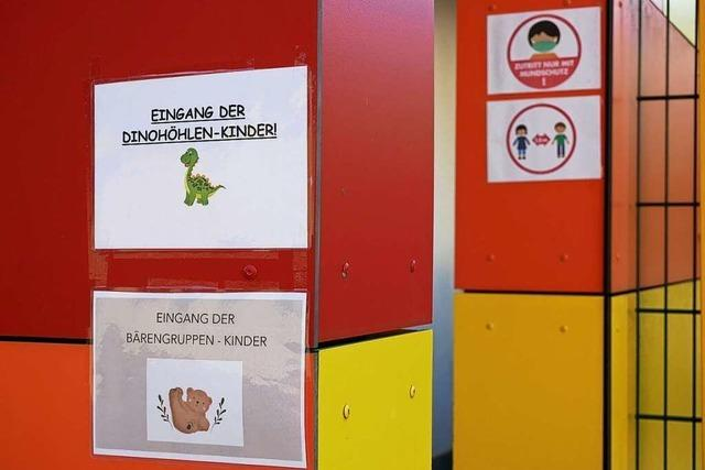 Arbeit in Kindergärten ohne Probleme
