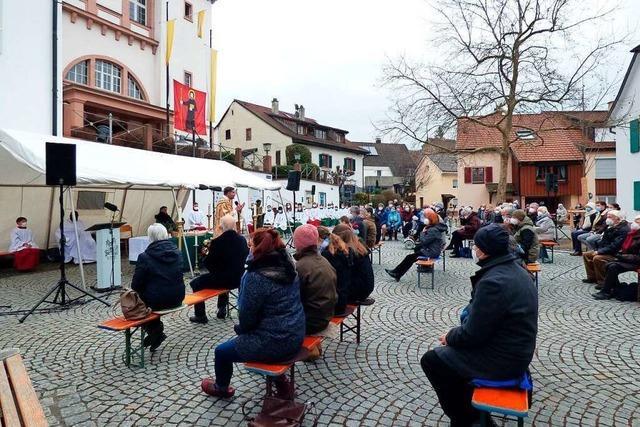 Pfarrgemeinde St. Fridolin feiert in Lörrach die Mitmenschlichkeit