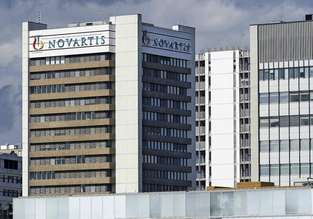Ein Blick auf den Basler Novartis-Camp...is eines Masterplans entwickelt wurde.  | Foto: Novartis