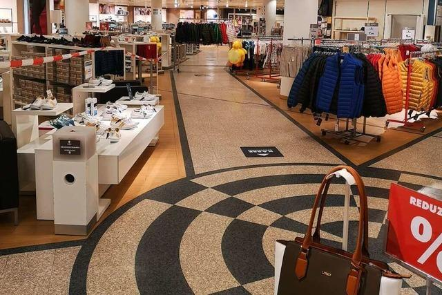 Einzelhandel öffnet an diesem Montag