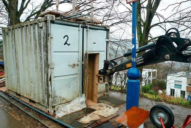 Baustellen in der Region Freiburg sind für Diebe wahre Fundgruben
