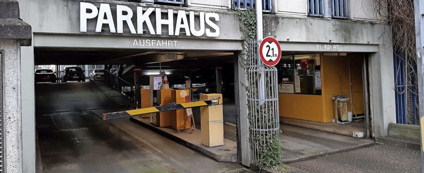 Obwohl  die Rollgittertore ersetzt werden, kann das Parkhaus benutzt werden.  | Foto: Stadt Emmendingen