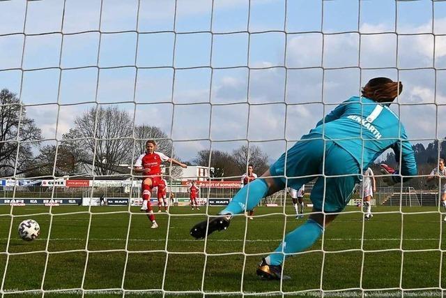 SC-Frauen verlieren 1:5 gegen Bayern München – und sehen dennoch Positives