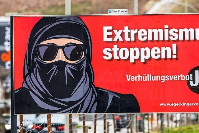 Hinter dem Burkaverbot in der Schweiz stecken diverse Motive