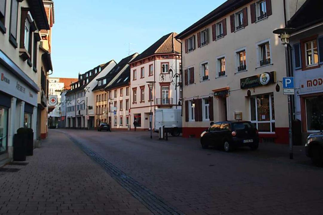Leere Innenstadt – damit es nach...eht, fordert die CDU einen Masterplan.  | Foto: Monika Weber