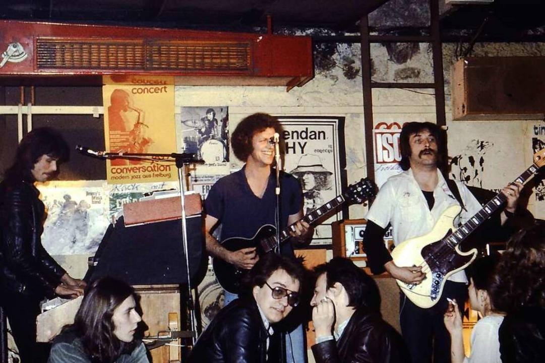 Immer wieder gern gesehen – und ...t Gästen im Roten Punkt im April 1977.  | Foto: Jürgen Buch