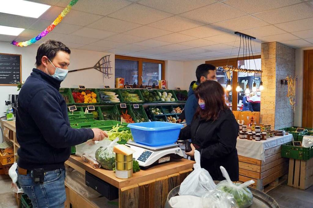 """Der größte Teil der Waren in """"Sü...aus eigenem Anbau oder aus der Region.    Foto: Silke Hartenstein"""