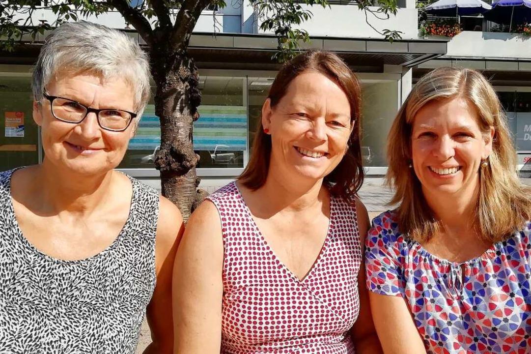 Die Leiterin der Caritas-Außenstelle C...Margot Argast (links) und Tanja Ehret.  | Foto: Caritasverband