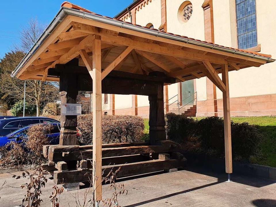 Die Sulzer Trotte bei der Kirche in der Dorfmitte  | Foto: Karl Kovacs