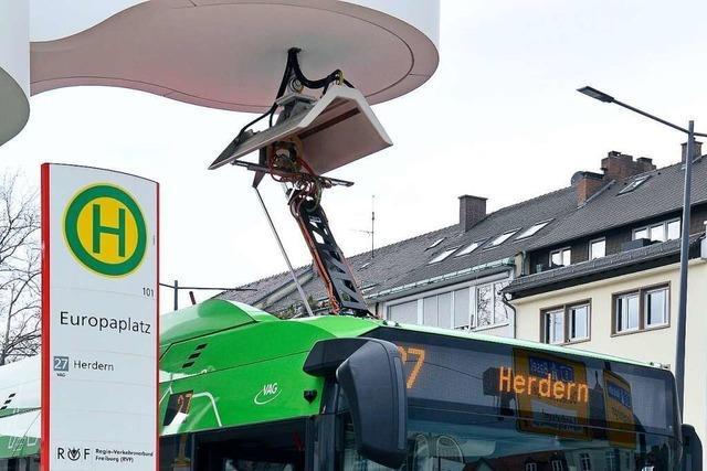 Freiburgs E-Busse haben schon 80.000 Kilometer zurückgelegt