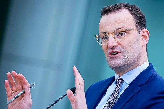 Gesundheitsminister Spahn hat CDU-Kandidatinnen virtuell besucht