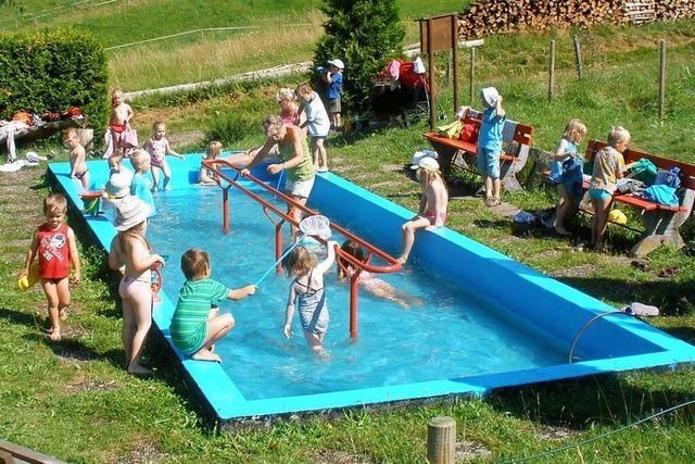 Die Wassertretstelle in Malsburg-Marzell soll bald wieder öffnen