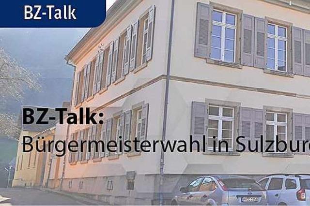 BZ-Talk mit den Kandidierenden in Sulzburg