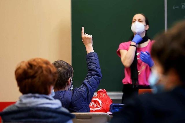 Anteil des Präsenzunterrichts liegt in Weil am Rhein bei 30 bis 40 Prozent