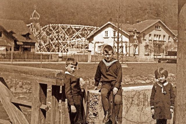Der Jünglingssteg soll wieder eine Holzbrücke werden, so wie bis 1935
