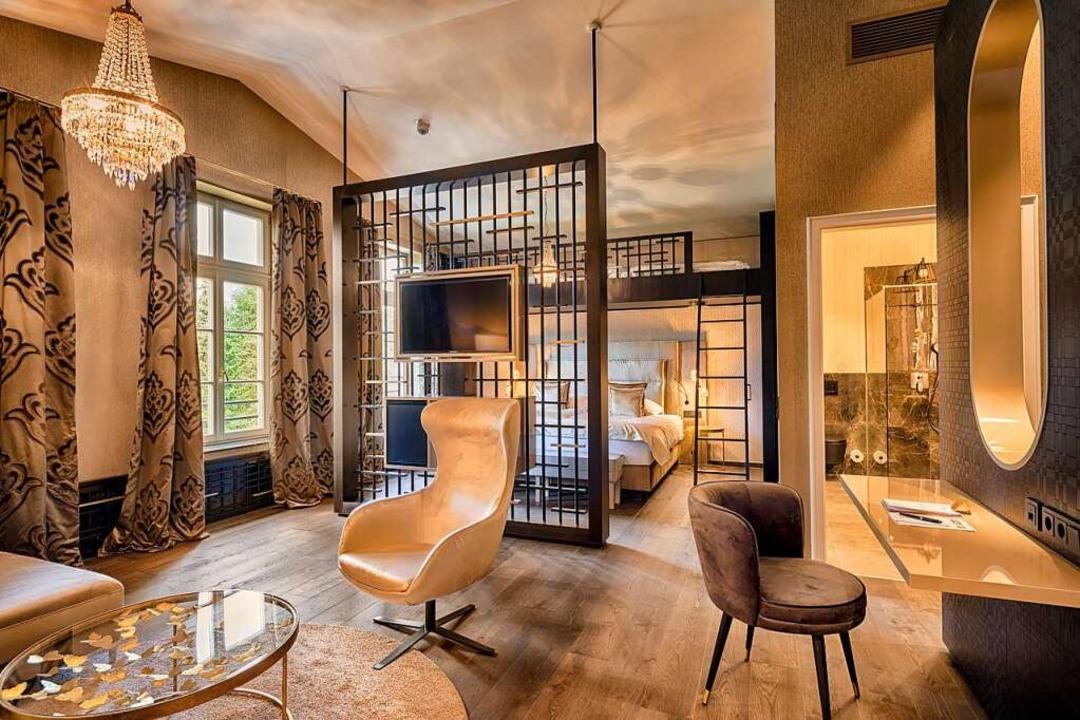 Eines von zehn neuen Design-Zimmern  | Foto: Parkhotel Adler, Hinterzarten