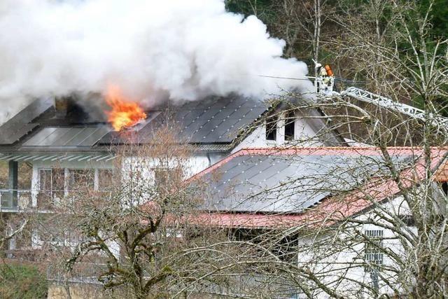 Polizei ermittelt mutmaßlichen Brandstifter nach Feuer in Elzach