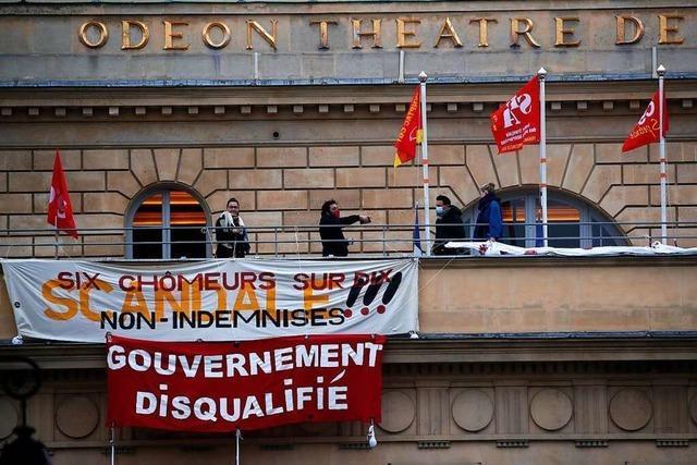 Auf die Barrikaden: Warum Kunstschaffende das Pariser Theater Odéon besetzt haben