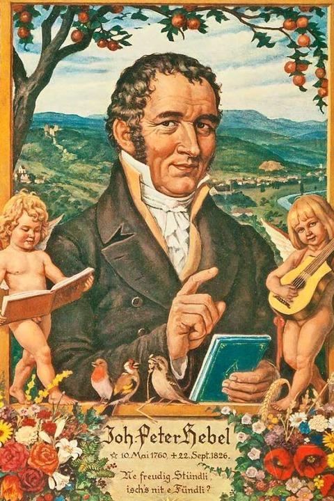 Dichter und erster Prälat der badischen Landeskirche: Johann Peter Hebel  | Foto: Thomas Dix Foto-Design, Grenzach