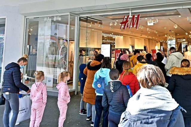 So lief der erste Tag der Ladenöffnungen in Freiburg